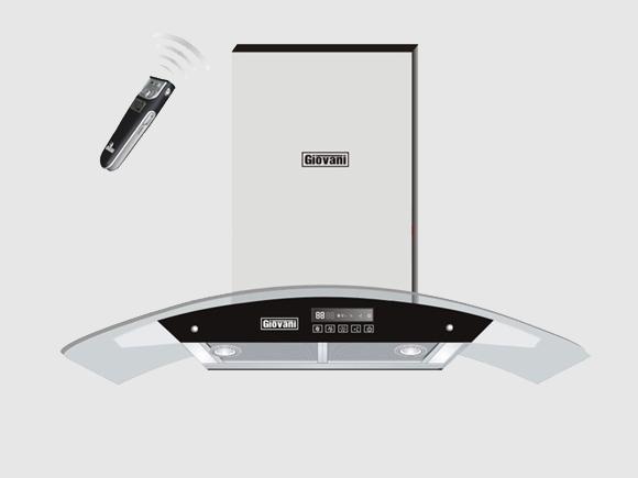 Giới thiệu chi tiết sản phẩm máy hút mùi Giovani G-2370RS