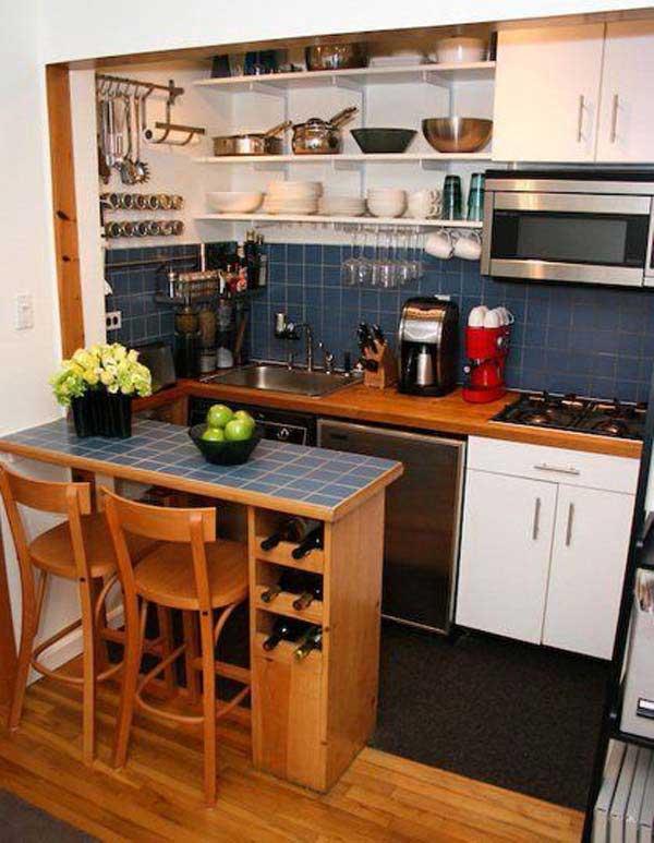 Cách thiết kế phòng bếp có diện tích nhỏ đẹp