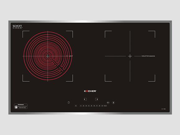 Giới thiệu chi tiết sản phẩm bếp điện từ Kocher EI730S