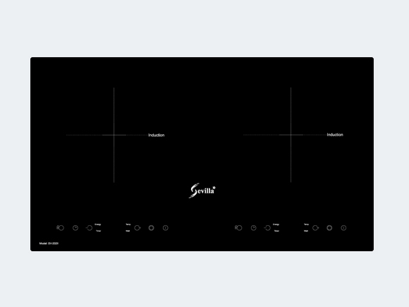 Giới thiệu chi tiết sản phẩm bếp từ Sevilla SV-202II