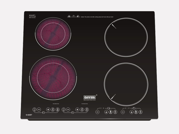 Giới thiệu mẫu sản phẩm bếp điện từ Giovani G-422ET