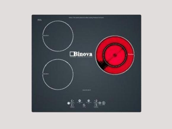 Giới thiệu chi tiết sản phẩm bếp điện từ Binova BI-344-IC