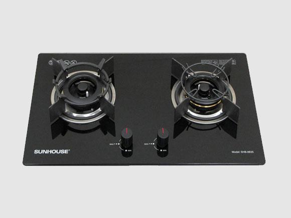 Chi tiết sản phẩm bếp gas âm Sunhouse SHB-8835