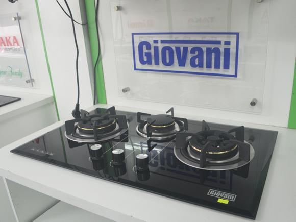 Tổng quan bếp gas âm Giovani G-377