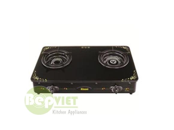 Unbox sản phẩm bếp gas dương Rinnai RV-6Slim GL-F