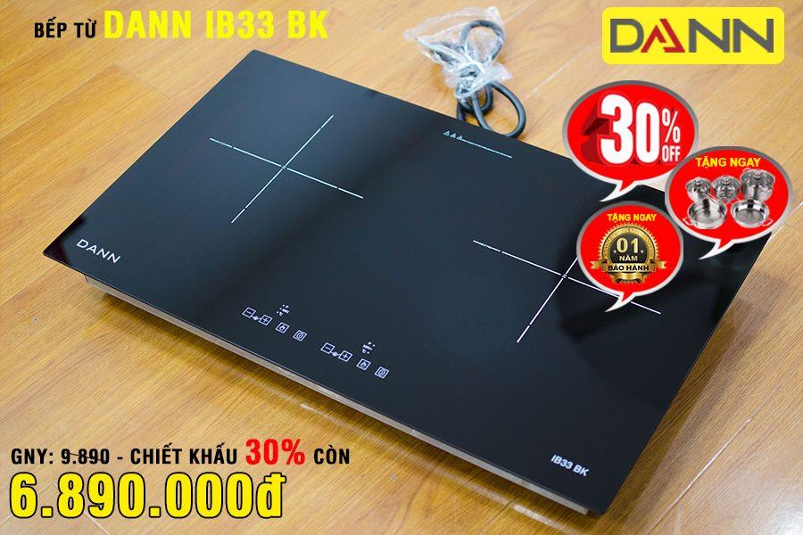 Bếp từ Dann IB33 BK - Made in Việt Nam tiêu chuẩn chất lượng châu Âu