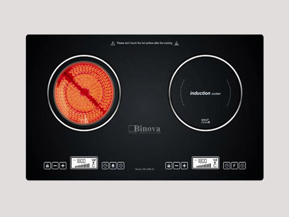 Giới thiệu chi tiết sản phẩm bếp điện từ Binova Bi-227-IC