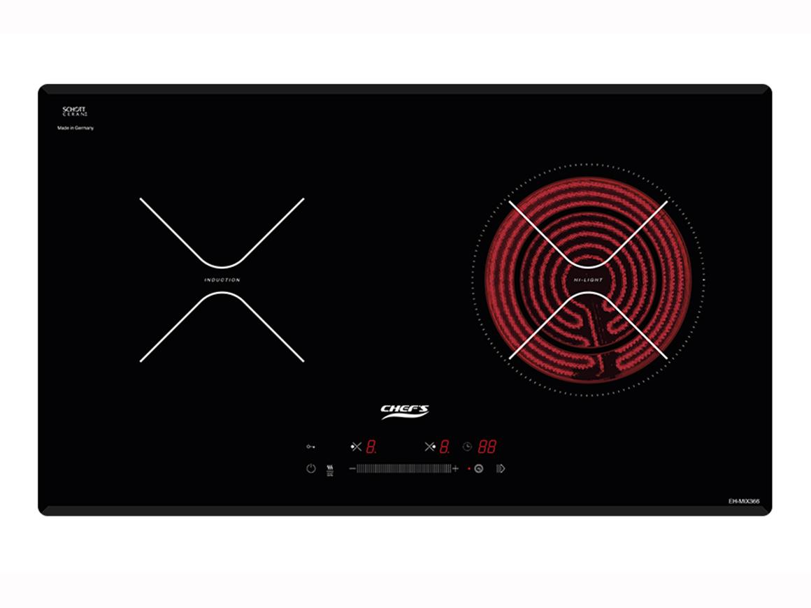 Bếp điện từ hỗn hợp Chefs EH-MIX366