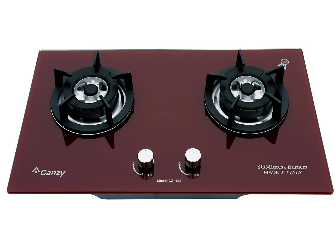 Bếp gas âm Canzy CZ-102(Đỏ)