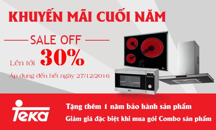 Giảm giá tới 30% thiết bị nhà bếp Teka - Tây Ban Nha (từ 10/11-27/12/2016)